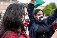 Como, 16 maggio 2021, manifestazione di solidarietà al popolo palestinese ancora sotto le bombe di Israele