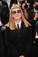 CANNES, FRANCE. July 12, 2021: Andrea Arnold at the gala premiere of Wes Anderson's The French Despatch at the 74th Festival de Cannes.<br /> Picture: Paul Smith / Featureflash