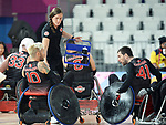 Trevor Hirschfield and Eric Rodrigues, Lima 2019 - Wheelchair Rugby // Rugby en fauteuil roulant.<br />