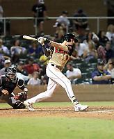 Josh Lowe plays in the annual Arizona Fall League Fall Stars Game at Salt River Fields on October, 12, 2019 in Scottsdale, Arizona (Bill Mitchell)