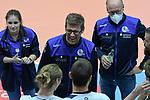 21.11.2020, GER, VBL, SVG Lueneburg vs SWD Powervolleys Dueren, im Bild Trainer Stefan Huebner (Lueneburg)/ Foto © nordphoto/ Witke