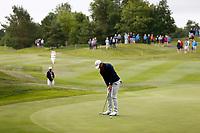2nd July 2021; Mount Juliet Golf Club, Kilkenny, Ireland; Dubai Duty Free Irish Open Golf, Day Two; Rory Mcilroy of Northern Ireland putts on the 12th green