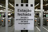 14.06.2019 - Greve metrô Tatuapé em SP