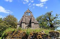 France, Creuse (23), chapelle des Templiers de Pallier