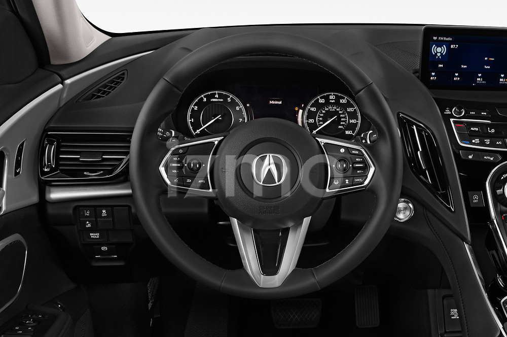 Car pictures of steering wheel view of a 2020 Acura RDX RDX 5 Door SUV