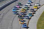 Monster Energy NASCAR Cup Series<br /> Alabama 500<br /> Talladega Superspeedway<br /> Talladega, AL USA<br /> Sunday 15 October 2017<br /> Daniel Suarez, Joe Gibbs Racing, Camping World Toyota Camry and Ricky Stenhouse Jr, Roush Fenway Racing, SunnyD Ford Fusion<br /> World Copyright: Nigel Kinrade<br /> LAT Images