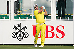 Angelo Que of Philippines tees off the first hole during the 58th UBS Hong Kong Golf Open as part of the European Tour on 08 December 2016, at the Hong Kong Golf Club, Fanling, Hong Kong, China. Photo by Marcio Rodrigo Machado / Power Sport Images