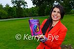 Michelle Hadad Kilcummin with her new book The Secret Box