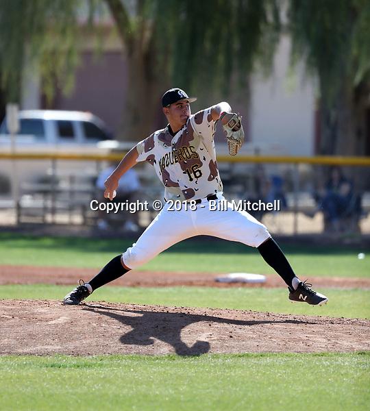 Jacob Hilton - 2018 Central Arizona College Vaqueros (Bill Mitchell)