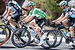 Sprint Jersey leader Mark Cavendish (GBR) Etixx-Quick Step in the bunch during Stage 5 of the 2015 Presidential Tour of Turkey running 159.9km from Mugla to Pamukkale. 30th April 2015.<br /> Photo: Tour of Turkey/Mario Stiehl/www.newsfile.ie