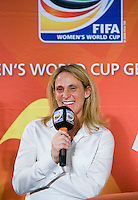 Kristine Lilly. A Welcome USA reception for the FIFA Women's World Cup 2011 was held at the German ambassador's residence in Washington, DC.