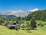 Austria, Vorarlberg, Montafon, Tschagguns: resort at Montafon region | Oesterreich, Vorarlberg, Montafon, Tschagguns: Urlaubssort im Montafon