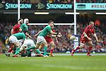 Ireland scrum half Conor Murray.<br /> RBS 6 Nations<br /> Wales v Ireland<br /> Millennium Stadium<br /> 14.03.15<br /> ©Steve Pope - SPORTINGWALES