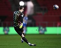 16th February 2021; Ashton Gate Stadium, Bristol, England; English Football League Championship Football, Bristol City versus Reading; Daniel Bentley of Bristol City takes a free kick long upfield