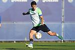 Getafe CF's Enes Unal during training session. October 6,2021.(ALTERPHOTOS/Acero)