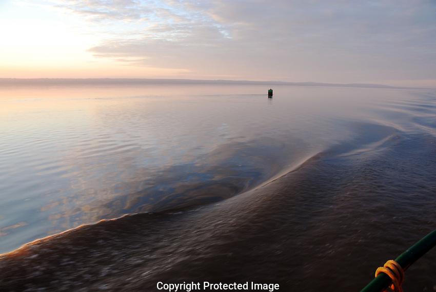 Mackenzie River sunrise