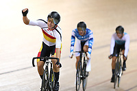 Corbin Strong finishes in the Elite Men Omnium points race 30km during the 2020 Vantage Elite and U19 Track Cycling National Championships at the Avantidrome in Cambridge, New Zealand on Friday, 24 January 2020. ( Mandatory Photo Credit: Dianne Manson )