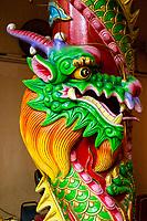 Dragon, Guan Di (Kuan Ti) Taoist Temple, Chinatown, Kuala Lumpur, Malaysia.