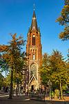 Deutschland, Nordrhein-Westfalen, Kevelaer: Kapellenplatz mit St. Marien Basilika | Germany, Northrhine-Westphalia, Kevelaer: Chapel Square and St Mary Basilica