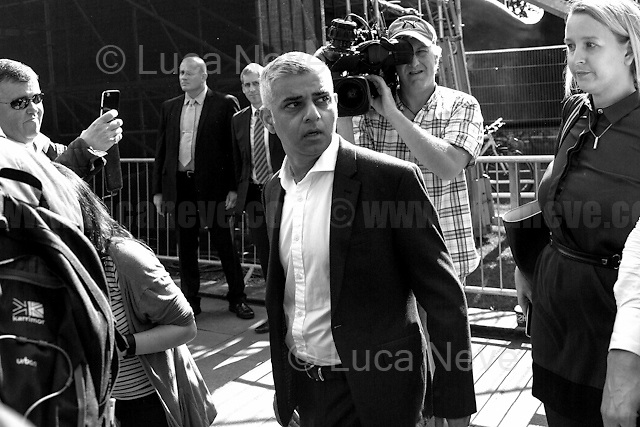 Sadiq Khan (Mayor of London).<br />
