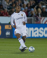 Real Salt Lake defender Jamison Olave. Real Salt Lake earned a tied versus the Colorado Rapids securing a place in the postseason. Dick's Sporting Goods Park, Denver, Colorado, October, 25, 2008. Photo by Trent Davol/isiphotos.com