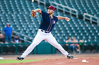 Daniel Tillo (33) pitching for the Naturals up for a rehab assignment for the Kansas City Royals against the Travelers at Arvest Ballpark, Springdale, Arkansas, Wednesday, July 14, 2021 / Special to NWA Democrat-Gazette/ David Beach
