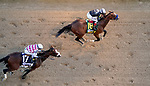 September 5, 2020: Authentic, #18, ridden by jockey John Valezquez, wins the 146th running of the Kentucky Derby. The races are being run without fans due to the coronavirus pandemic that has gripped the world and nation for much of the year, with only essential personnel, media and ownership connections allowed to attend at Churchill Downs in Louisville, Kentucky. John Voorhees/Eclipse Sportswire/CSM