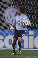 DC United goalkeeper Josh Wicks (31)   Chicago Fire tied DC United 1-1 at  RFK Stadium, Saturday March 28, 2009.