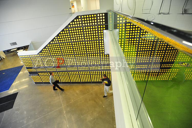 CLOROX Patent wall at the company campus in Pleasanton CA, Friday January 20, 2014.