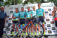 Tour team winners State Of Matter / MAAP after the NZ Cycle Classic stage five of the UCI Oceania Tour in Masterton, New Zealand on Saturday, 23 January 2016. Photo: Dave Lintott / lintottphoto.co.nz