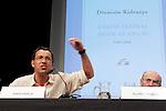 Writers Jordi Garcia and Alvaro Pombo in the Essential Notebooks´s release of Santander Bank Fundation at Instiuto de Cervantes.Madrid 26 june 2012.(ALTERPHOTOS/ARNEDO)