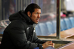 Atletico de Madrid´s coach Diego `Cholo´Simeone during Copa del Rey 2013-14 match at Vicente Calderon Stadium in Madrid, Spain. (ALTERPHOTOS/Victor Blanco)