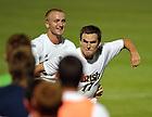 Aug. 25, 2012; Men's Soccer vs Duke; Ryan Finley celebrates a goal in the 1-0 win...Photo by Matt Cashore/University of Notre Dame