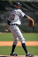Detroit Tigers minor leaguer Andrew Miller during Spring Training at the Chain of Lakes Complex on March 17, 2007 in Winter Haven, Florida.  (Mike Janes/Four Seam Images)