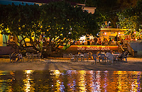The night lights of Cruz Bay<br />