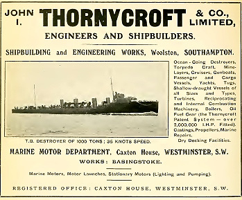 "Brian Kennedy's professional career began as a ""Gentleman Apprentice"" at the Thornycroft yard in Southampton in November 1932."