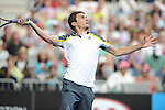 Gilles SIMON (FRA) loses at Australian Open in Melbourne Australia on 21st January 2013