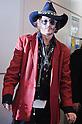 US Actor Johnny Depp Arrives in Japan