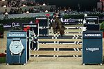 Joe Clee of United Kingdom rides Vedet de Muze E T at the Longines Grand Prix during the Longines Hong Kong Masters 2015 at the AsiaWorld Expo on 15 February 2015 in Hong Kong, China. Photo by Aitor Alcalde / Power Sport Images