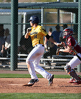 Jake Skipworth takes part in the 2018 Under Armour Pre-Season All-America Tournament at the Chicago Cubs training complex on January 13-14, 2018 in Mesa, Arizona (Bill Mitchell)