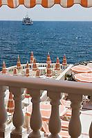 Europe/France/Provence-Alpes-Côte d'Azur/06/Alpes-Maritimes/Beaulieu-sur-Mer: Hôtel: La Réserve de Beaulieu- La terrasse