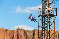 Stunt-Show im Filmpark Babelsberg, Potsdam, Brandenburg, Deutschland