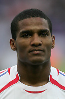 Florent Malouda.  Italy defeated France on penalty kicks after leaving the score tied, 1-1, in regulation time in the FIFA World Cup final match at Olympic Stadium in Berlin, Germany, July 9, 2006.