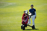STANFORD, CA - APRIL 23: Vivian Hou at Stanford Golf Course on April 23, 2021 in Stanford, California.