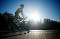 Wilco Kelderman (NLD/LottoJumbo) returning from a 7hr training ride<br /> <br /> Team Lotto Jumbo winter training camp<br /> <br /> January 2015, Mojácar, Spain