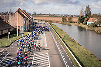 top view<br /> <br /> 82nd Gent-Wevelgem in Flanders Fields 2020 (1.UWT)<br /> 1 day race from Ieper to Wevelgem (232km)<br /> <br /> ©kramon