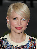 "NEW YORK CITY, NY, USA - MAY 05: Michelle Williams at the ""Charles James: Beyond Fashion"" Costume Institute Gala held at the Metropolitan Museum of Art on May 5, 2014 in New York City, New York, United States. (Photo by Xavier Collin/Celebrity Monitor)"