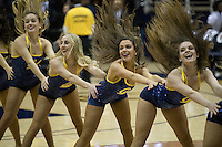BERKELEY, CA - January 29, 2017: Cal Bears Men's Basketball team vs. the Stanford Cardinal at Haas Pavilion. Final score, Cal Bears 66, Stanford Cardinal 55.
