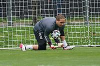 Torwart Luca Plogmann (Deutschland, Olympiamannschaft) - Frankfurt 13.07.2021: Trainingslager der Deutschen  Olympia-Nationalmannschaft für Tokio 2021