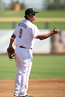 Kris Negron - Peoria Saguaros - 2010 Arizona Fall League.Photo by:  Bill Mitchell/Four Seam Images..